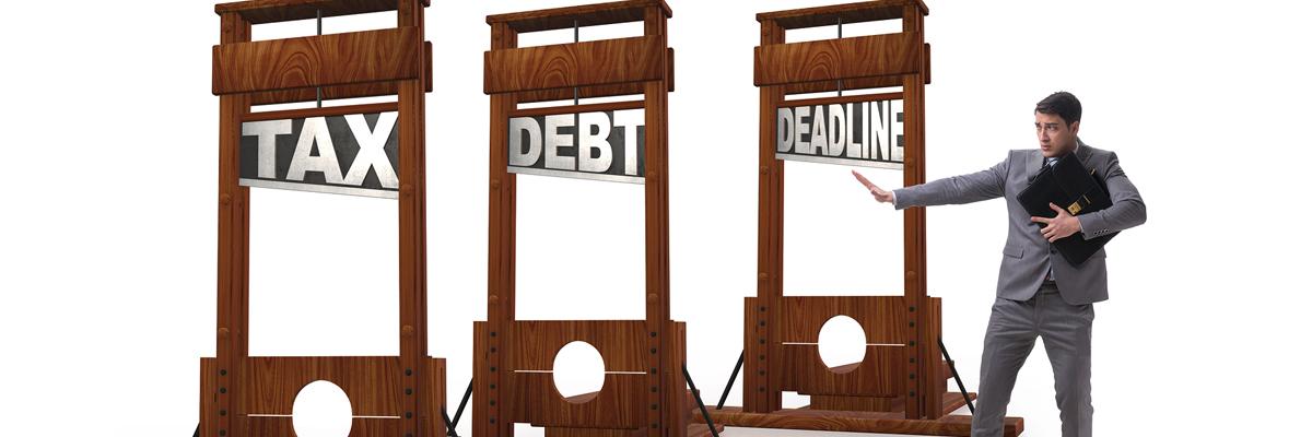 tax debt deadline
